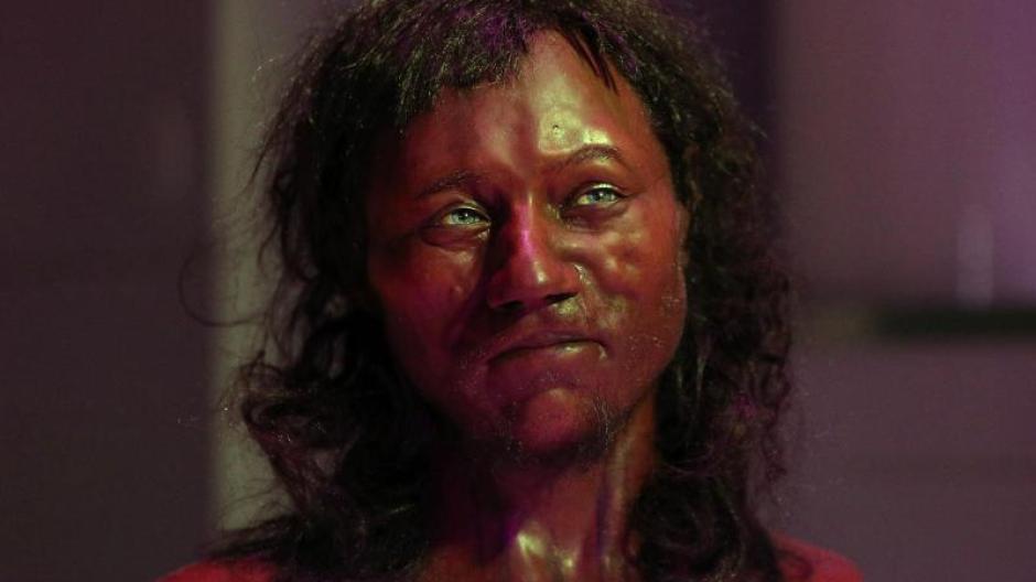 Dunkle Haut Blaue Augen Forscher Rekonstruieren Ersten Briten