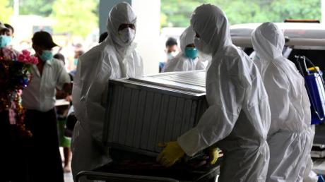 Der letzten Pandemie - der Schweinegrippe - fielen nach WHO-Angaben mehr als 18.400 Menschen in rund 200 Ländern zum Opfer. Foto: U Aung/XinHua/Archiv