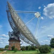 Das Parkes-Radioteleskop in Australien.