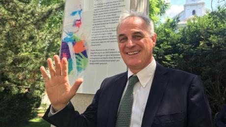Für seine Erfindung bekam Didier Pittet, Professor von der Universitätsklinik Genf, eine der höchsten britischen Ehren.