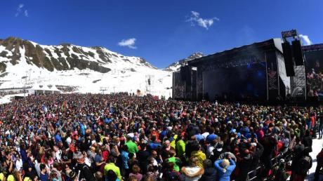 Ski- und Partybetrieb in Ischgl im Jahr 2018.