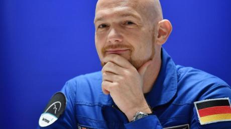 Vorbild für viele. Der deutsche Astronaut Alexander Gerst.