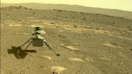 Der Mini-Hubschrauber «Ingenuity»soll deutlich länger auf dem Mars herumschwirren als zunächst geplant.