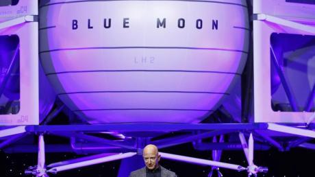 Jeff Bezos hat vor 20 Jahren Blue Origin gegründet.