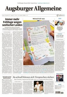 Lesen Sie jetzt: Die heutige Ausgabe Ihrer Tageszeitung als E-Paper.